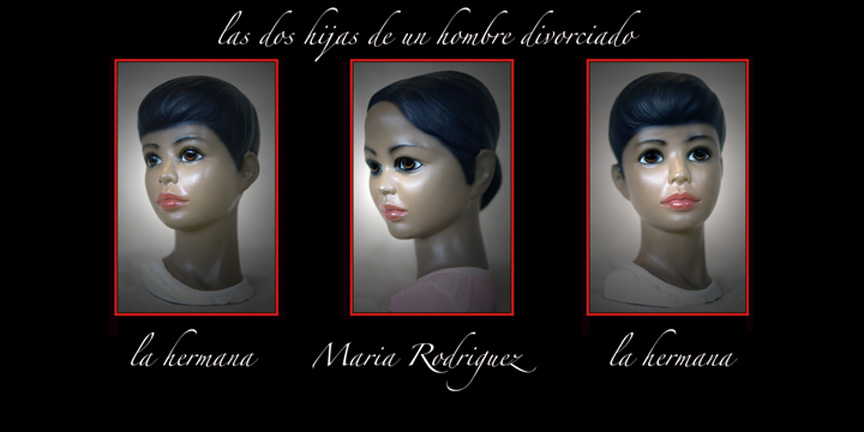 "HERMANAS digital print on Hahnemuhle paper, 22""x 44"" ed. of 20"